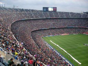 plus grand stade de foot du monde