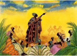 Histoire orale et conte pour enfant en Afrique